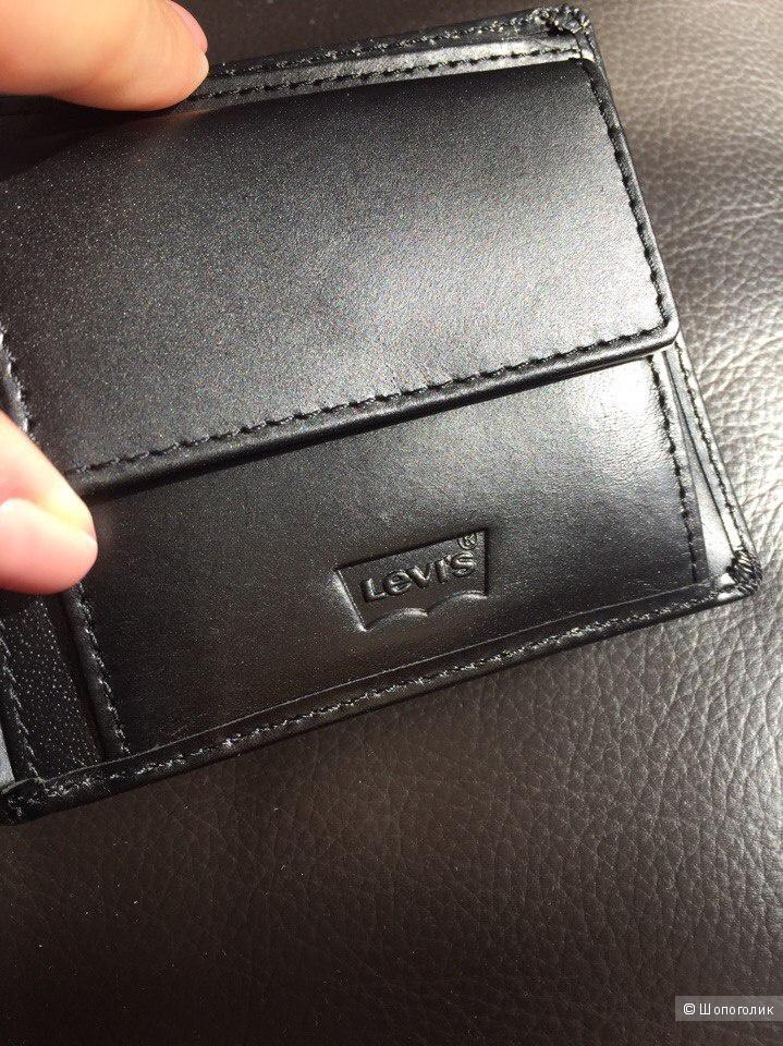 Новый кожаный кошелек Levi's