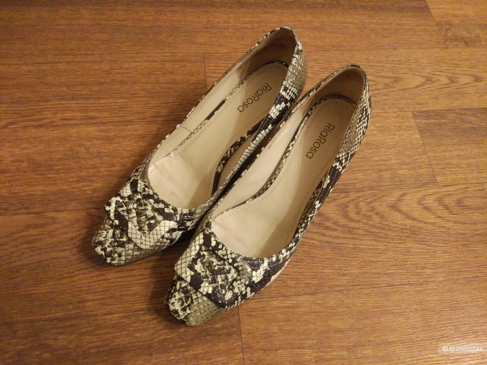 19f22b639 Кожаные туфли Эконика (линейка Ria Rosa) 38 размера, в магазине ...