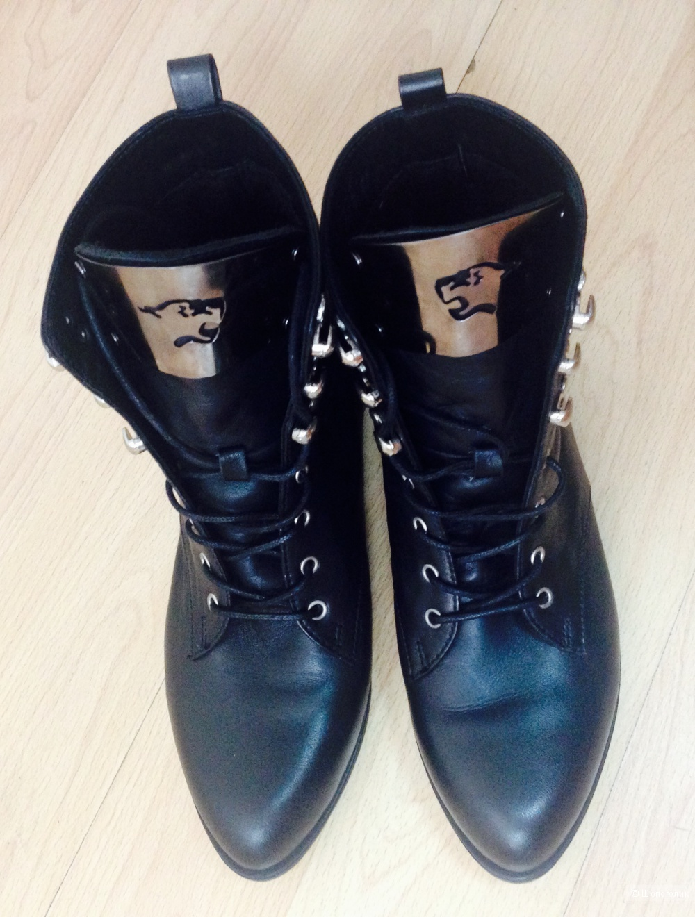 Ботинки кожаные, размер 39