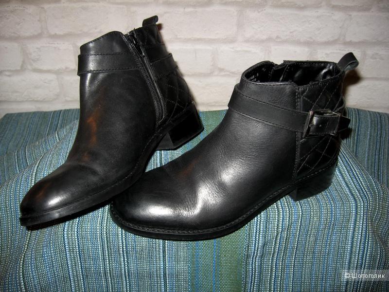 Ботильоны кожаные asos, размер 37