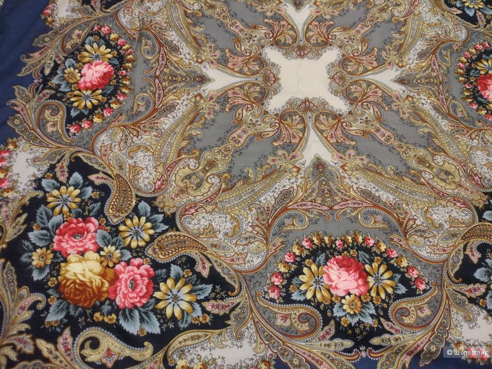 Павлопосадский платок «Сон бабочки»
