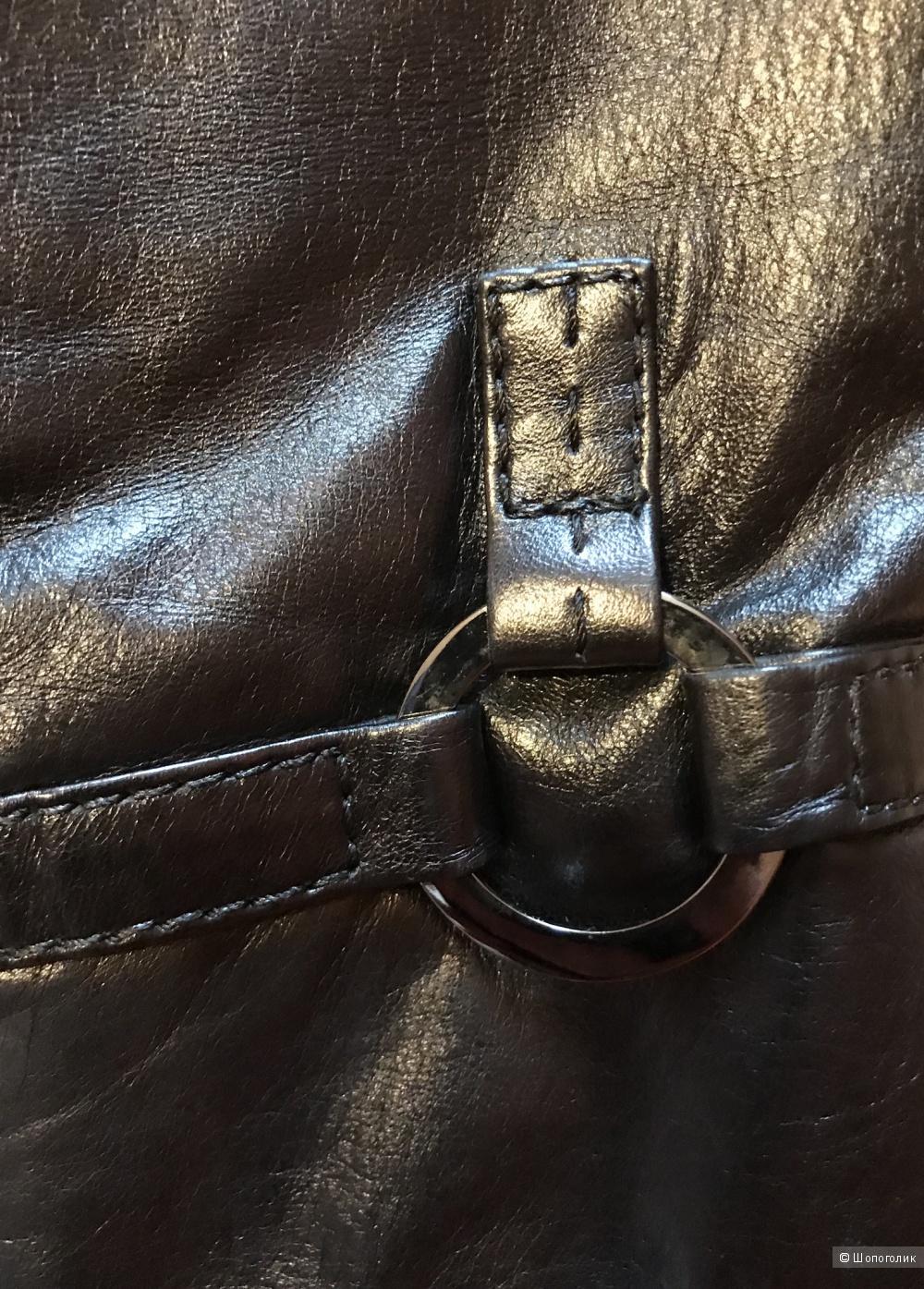 Кожаная куртка  Louis Armand, размер 38DE