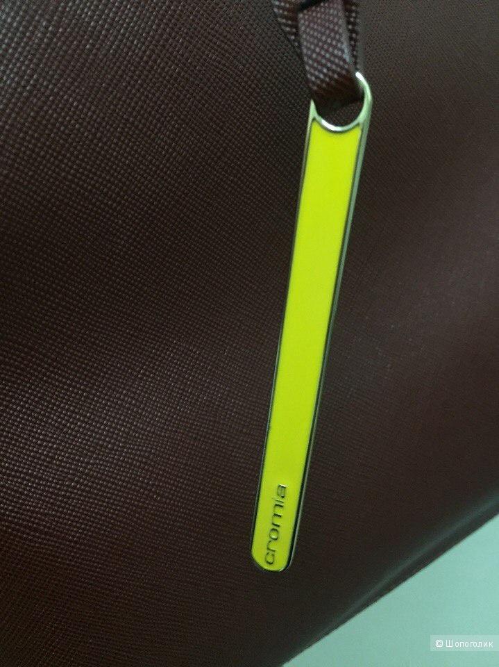 Сумка Cromia кожа сафьяно в идеале