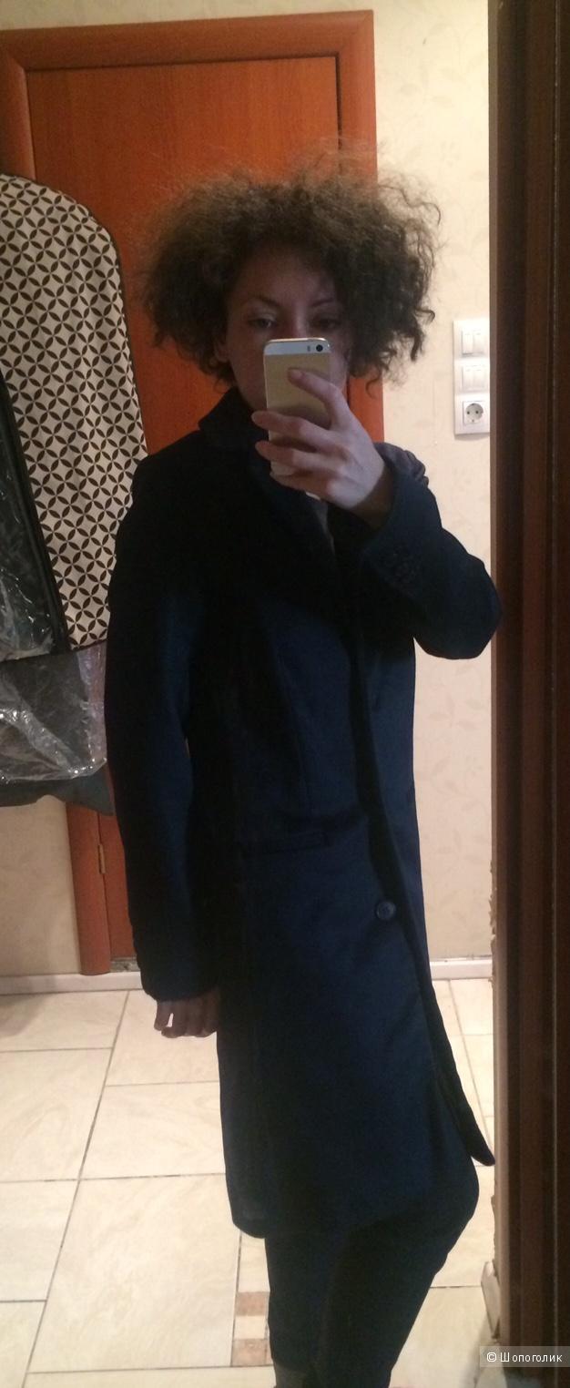 Крутое темно-синее пальто American Vintage / XS