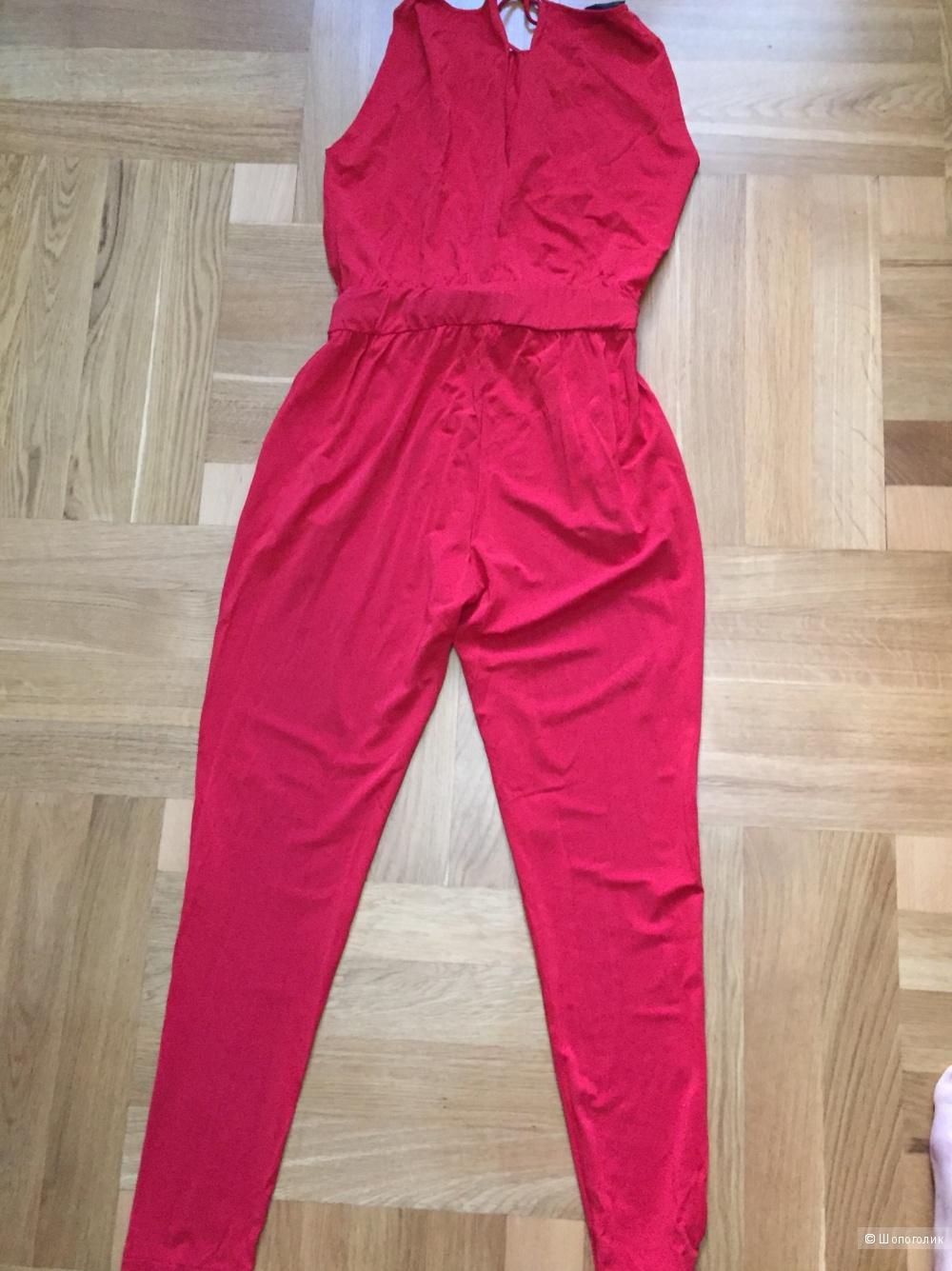 Красный комбинезон PF Paola Frani размер S (IT 40)
