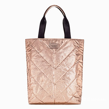 Сумка стеганая  цвет розовое золото  Victoria's Secret