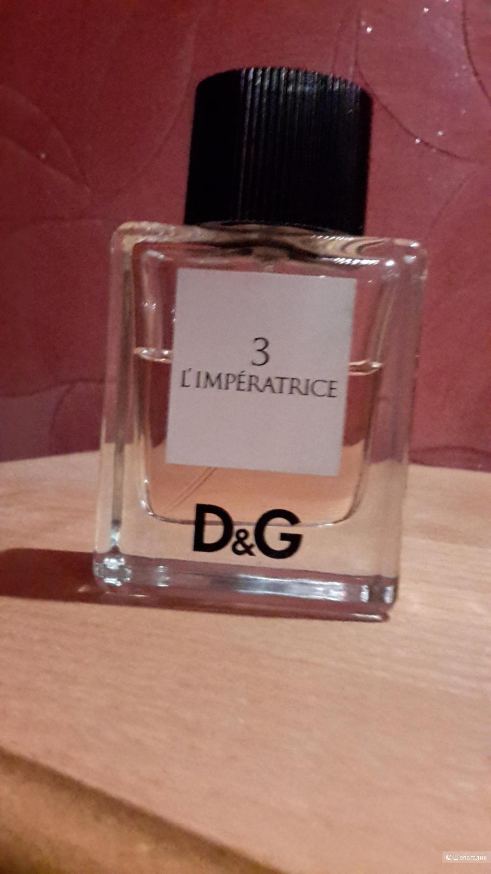 Туалетная вода  L`Imperatrice 3 Dolce&Gabbana 50 мл