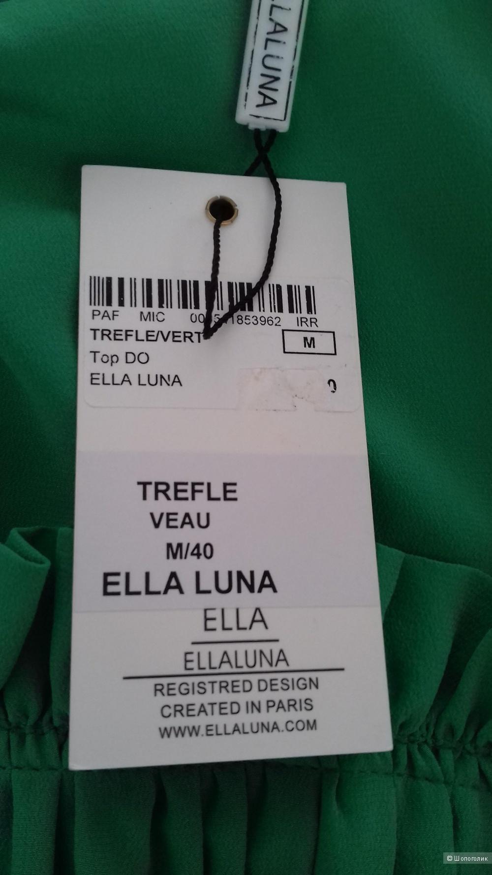 Шёлковая блуза ELLA LUNA Paris, Франция, размер 42 - 44-46