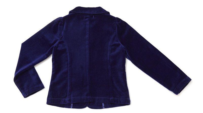 Велюровый жакет для девочки, р-р 98 (3 года)