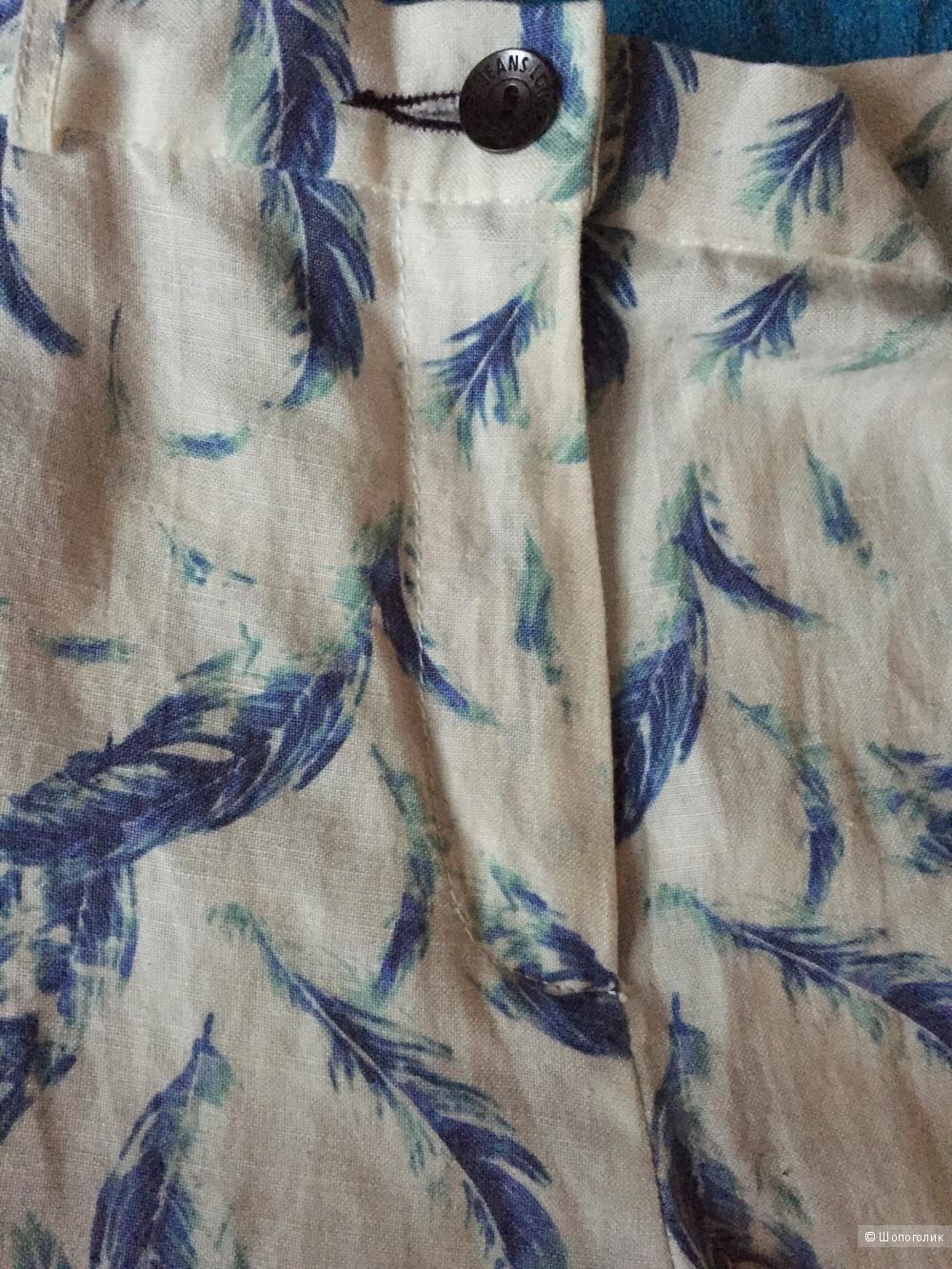 Брюки из льна Pepe Jeans, размер S