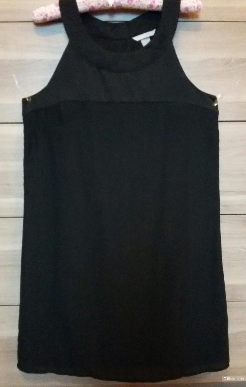 Черное платье H&M, размер 46