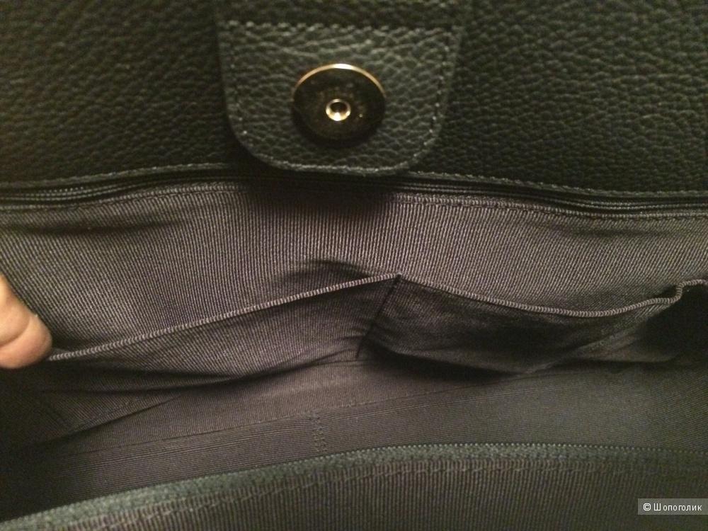 Новая чёрная сумка Furla Giada большая, оригинал