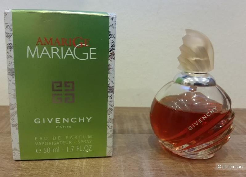 Парфюм винтажный Givenchy Amarige Mariage -ПВ 40/50 мл