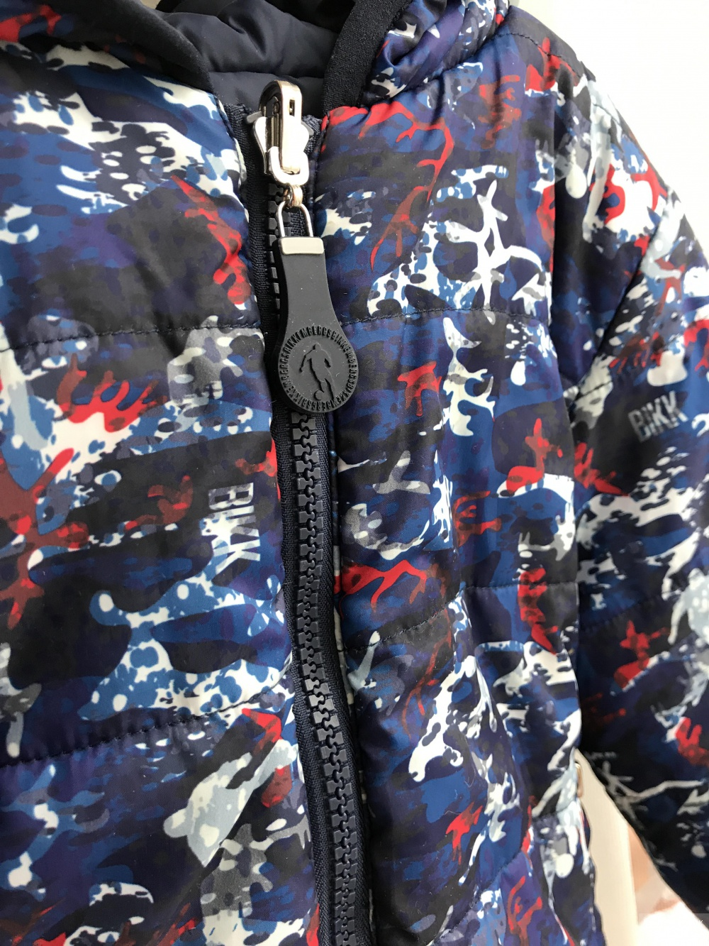 Двусторонняя куртка для мальчика Dirkbikkembergs размер 2A
