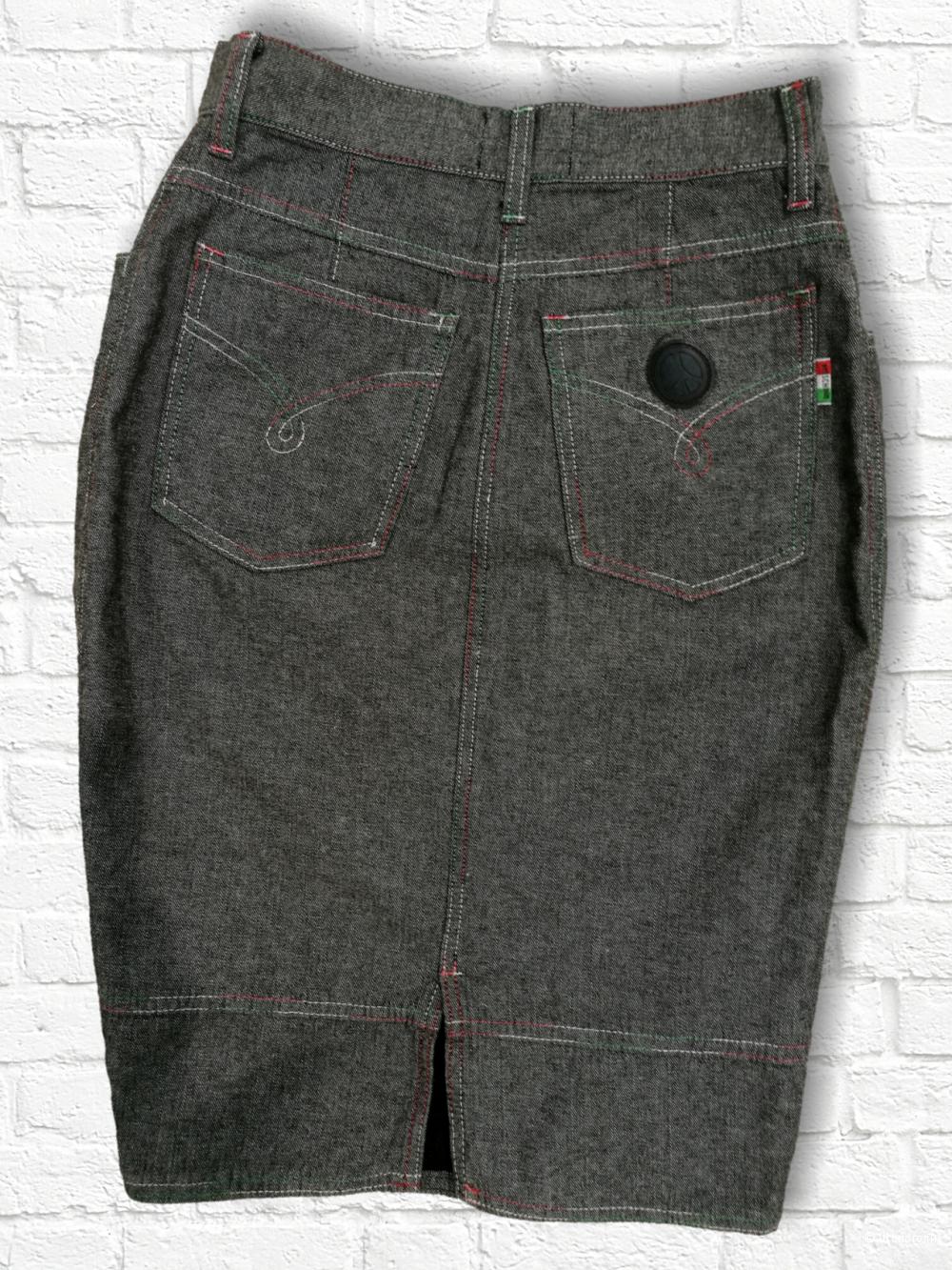 Moschino jeans.Оригинал.Джинсовая юбка. 44it. .