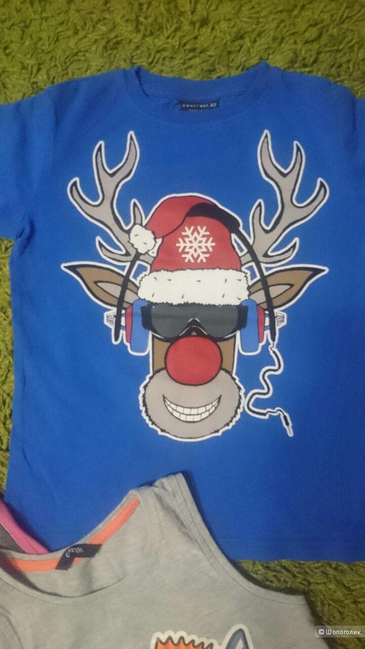 Комплект детских футболок 4-5 лет