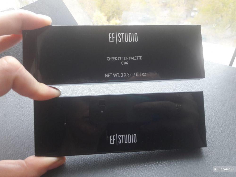 Палетка румян EF Studio (Канада)