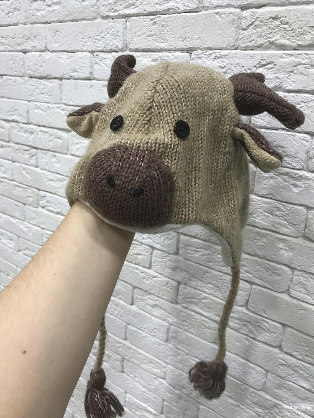 Вязанная шапка Hand Made Knitwits /р-р:52-54