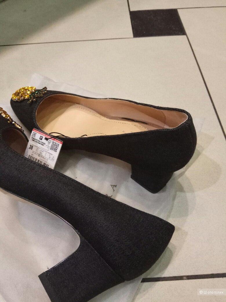 Новые туфли Зара,38 рр