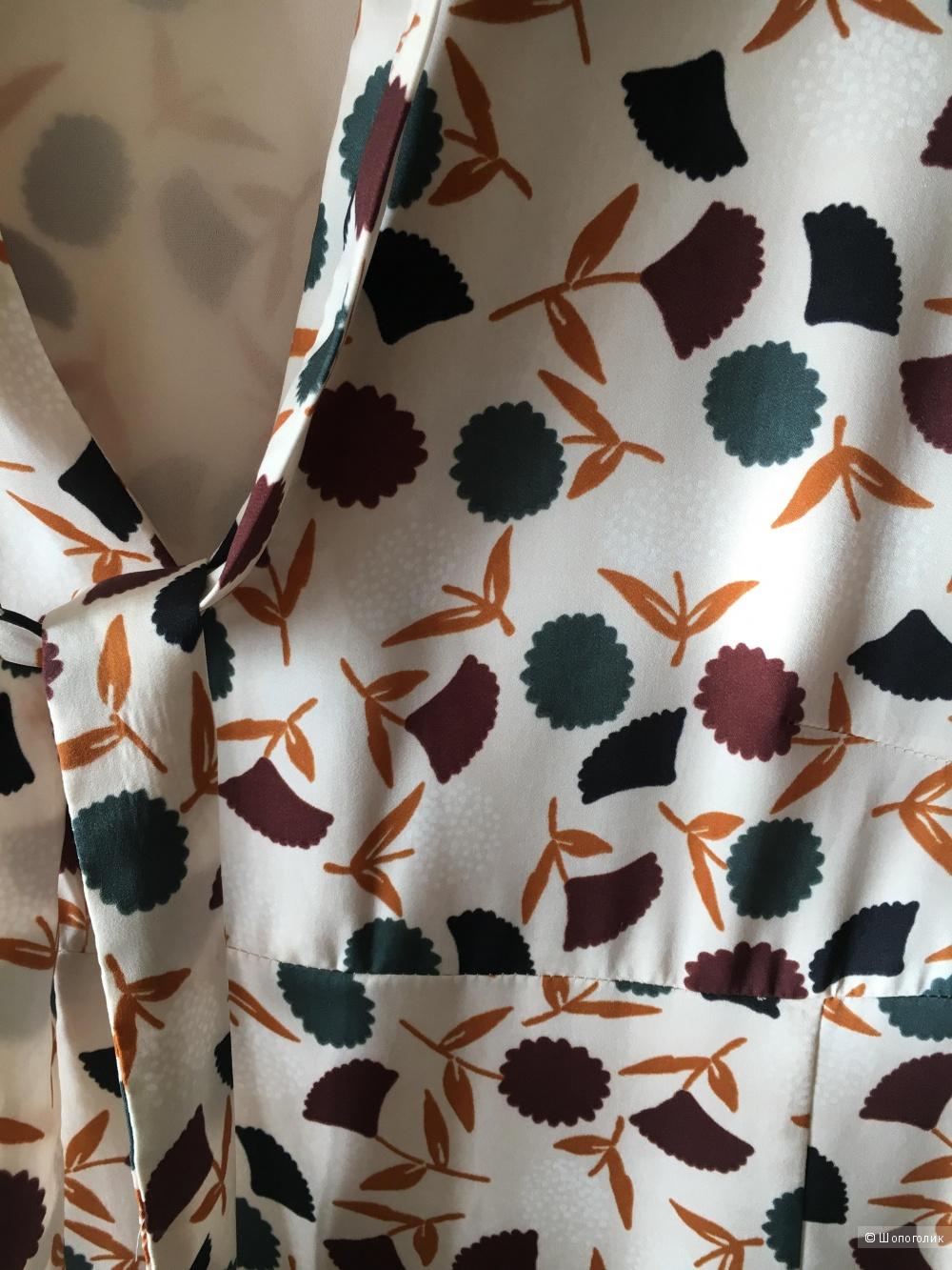 Платье в стиле 70-х годов Mango, XS