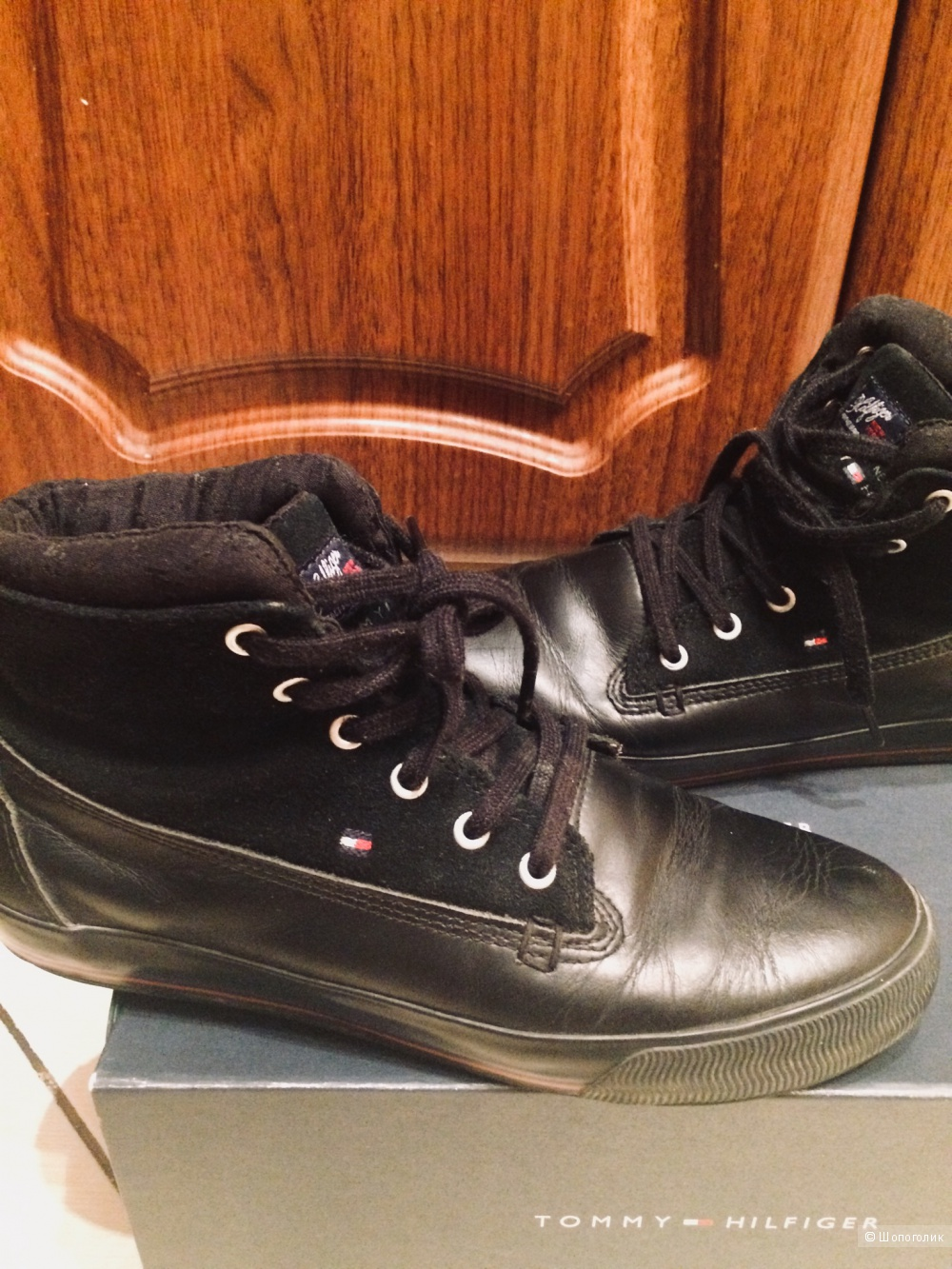 Ботинки Tommy Hilfiger, 38 размер.