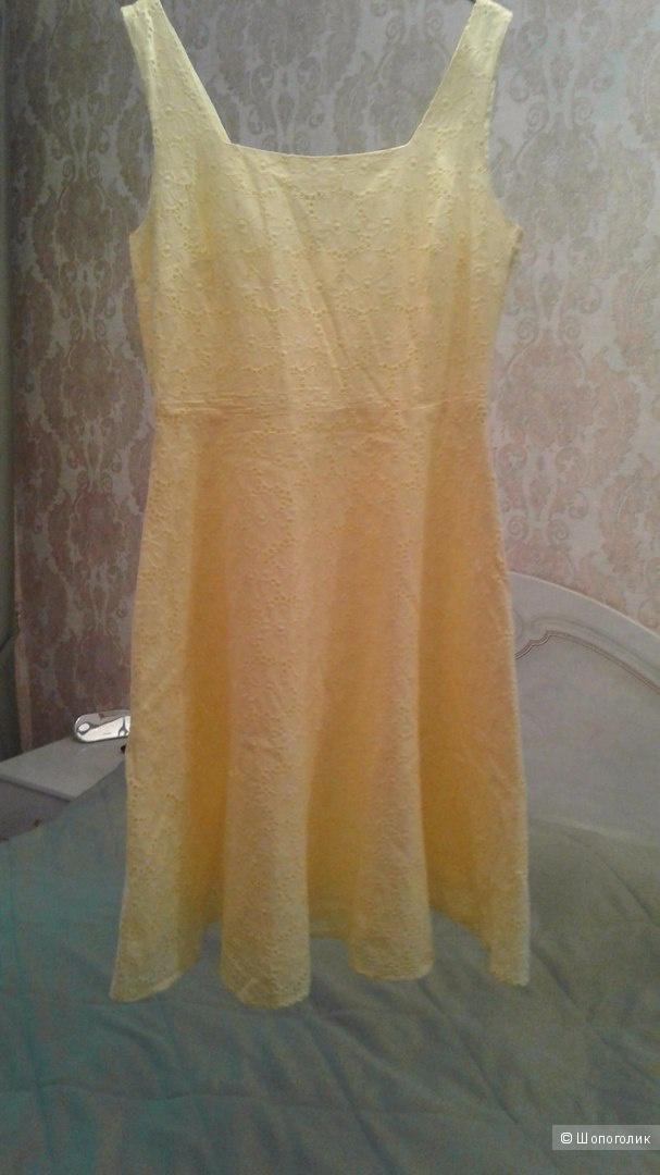 Платье-сарафан летнее Zolla 100% хлопок р.48-50