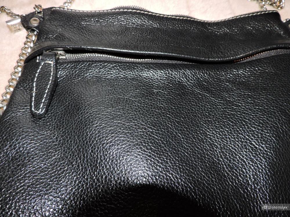 Кроссбоди-планшет Marina Creazioni,натуральная кожа,Made in Italy.
