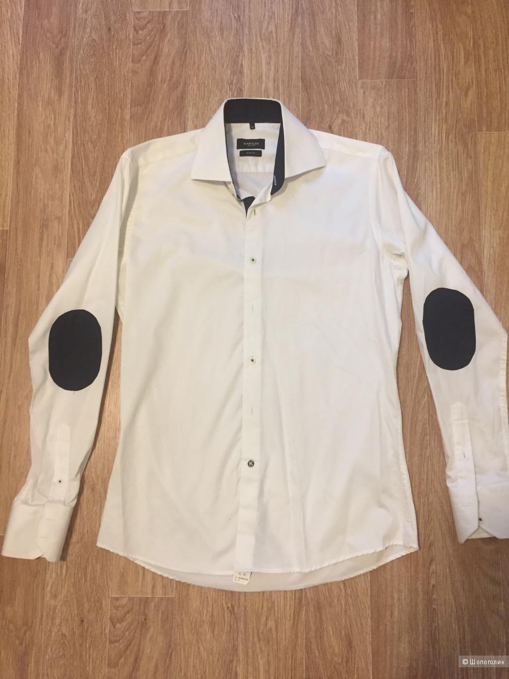 Мужская рубашка Kanzler 40/48-50 размер Slim Fit