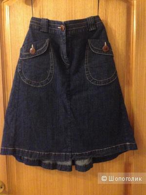 Джинсовая юбка от Султаны Французовой на xs-s