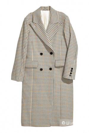 Крутое модное пальто HM размер 32