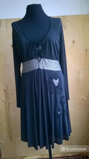 Платье трикотажное  LEGATTE Италия   р III (48-50)