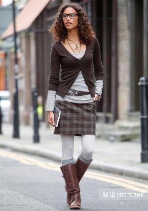 ESPRIT: юбка классика в клетку, 38 евро