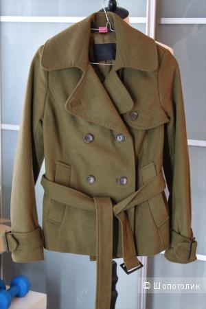 Шерстяное пальто Bruuns Bazaan размер 36 (42-44)