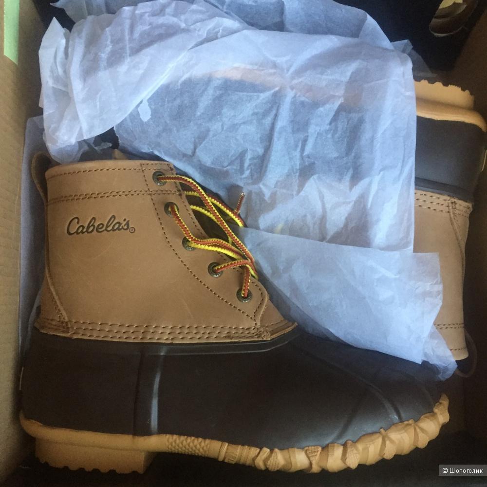 Ботинки мужские Cabela's, размер 9US(42-43)