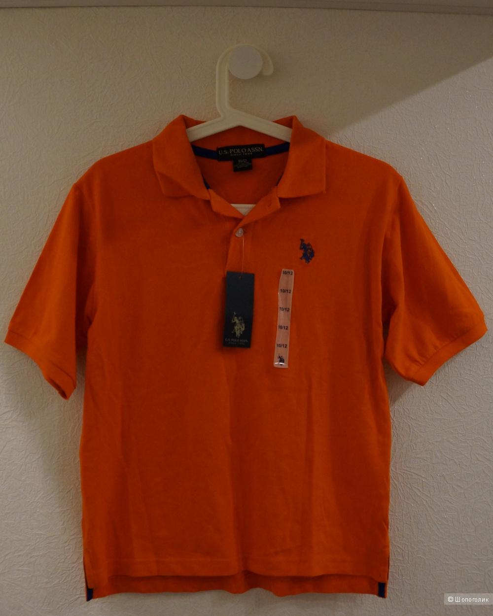 Поло бренда U.S. Polo.ASSN. на мальчика 10-12 лет