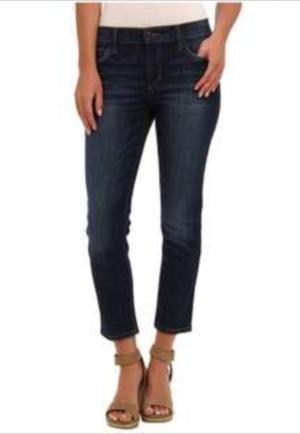 Темно-синие укороченные джинсы Joe's Jeans, размер 30