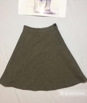 Шерстяная юбка Massimo Dutti 36 евр.