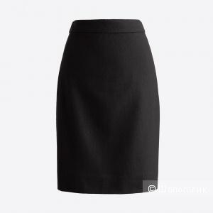 Шерстяная юбка-карандаш J Crew Factory размер 40-42