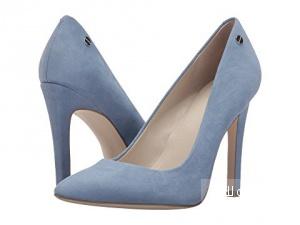 Голубые замшевые туфли Calvin Klein размер 10