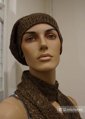 Шапка+шарф марки WoolStreet