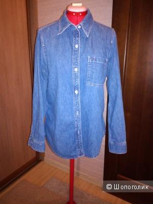 Джинсовая женская рубашка Gap размер М