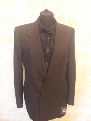 HUGO BOSS: мужской шерстяной пиджак, оригинал, 50 и рубашка в подарок