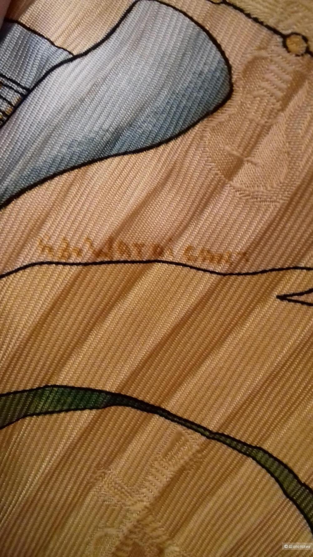 Шёлковый платок - плиссе, Hermès, 90*90