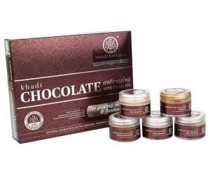 Шоколадный подарочный набор, против морщин, Khadi, 75g.