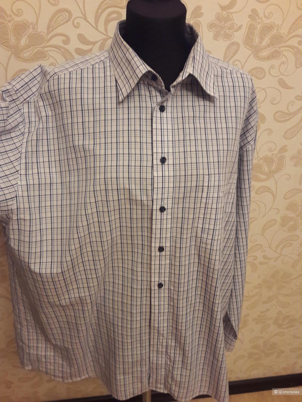 Burberry: мужская  рубашка, оригинал, Xll + рубашка классическая  в подарок