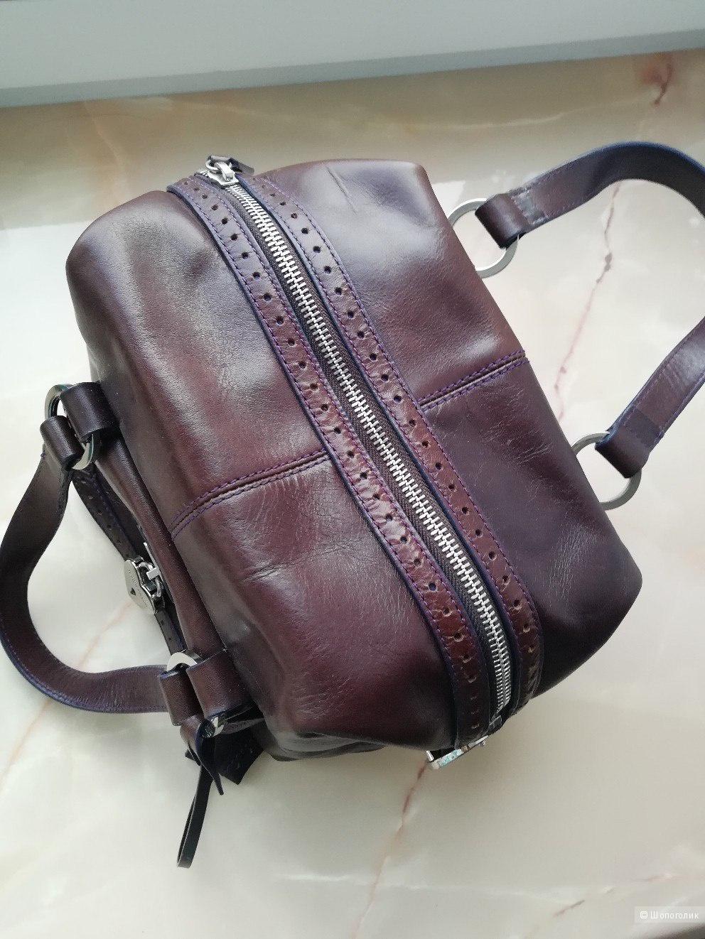 Karen Millen сумка натуральная кожа