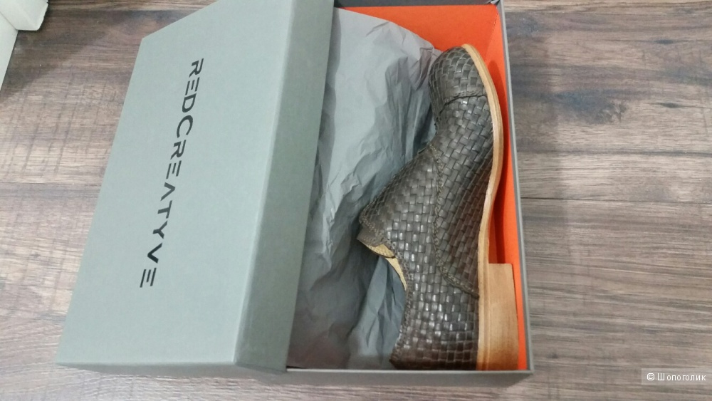 Итальянские кожаные туфли, 37 размера