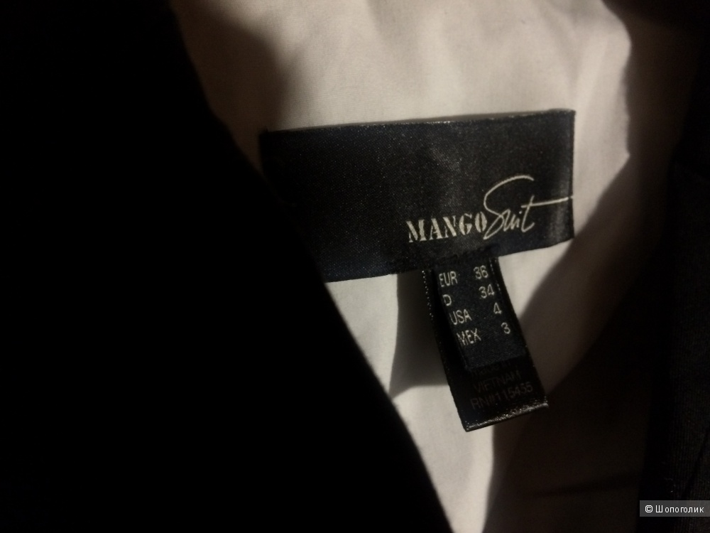 Пиджак Mango 38 (44 S)