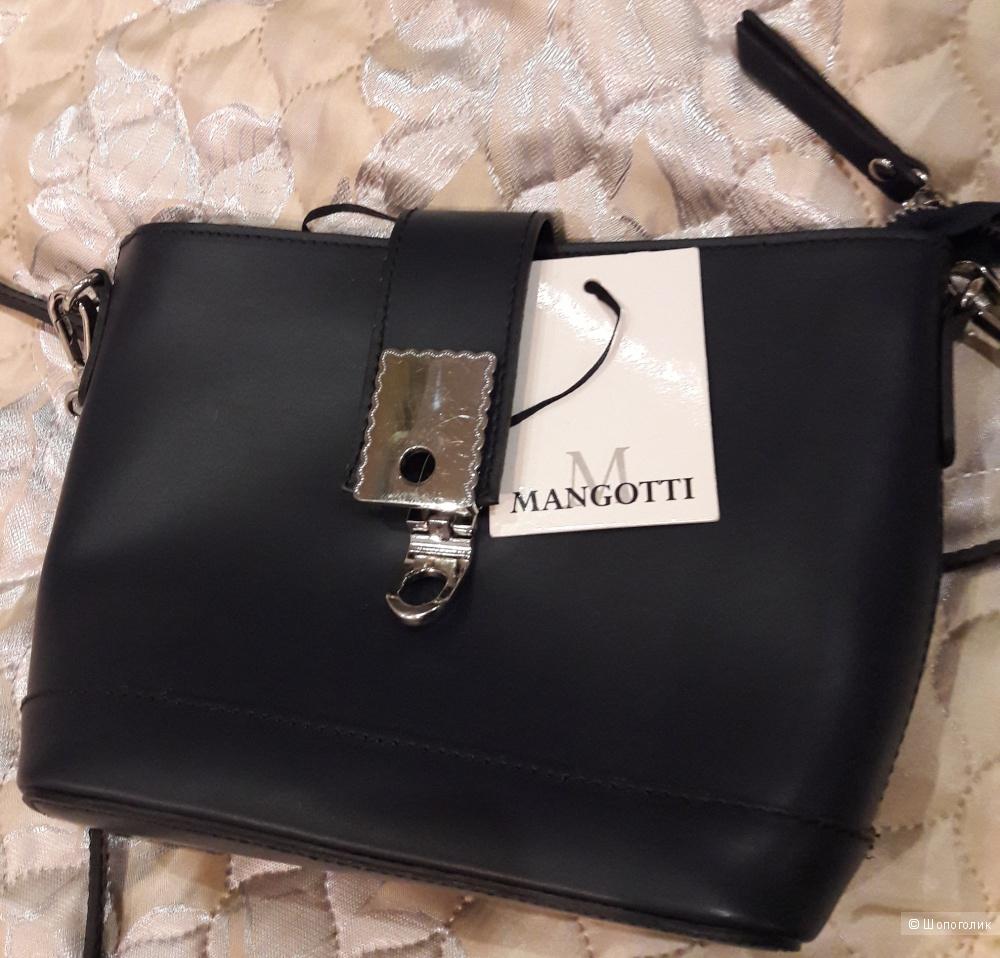 Новая кожаная сумка Mangotti