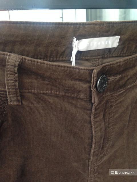 Вельветовые брюки (джинсы)-скинни Stefanel (44-46 размер)